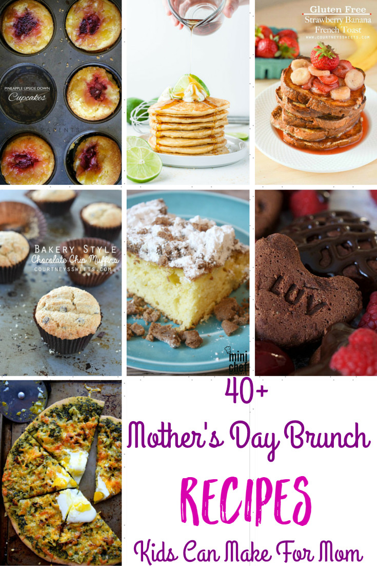 Mothers Day Recipe Craft Mother s Day Brunch Recipes that Kids Can Make For Mom