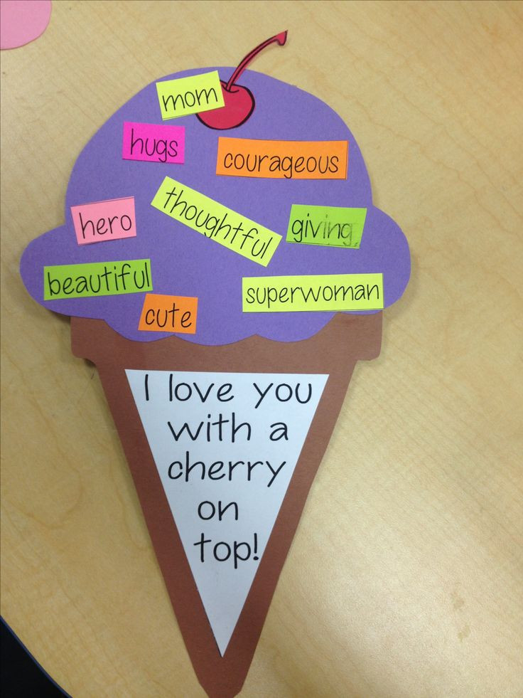 Mothers Day Recipe Craft Cute Mother s Day craft Pin Success