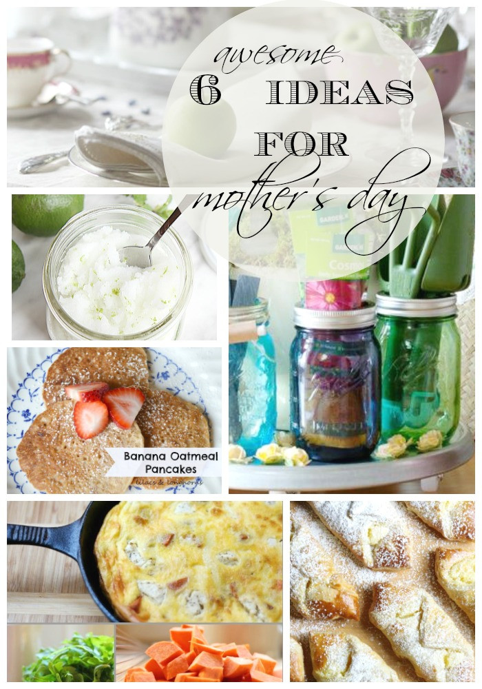 Mothers Day Recipe Craft Mothers Day Ideas 6 DIY Gifts & Recipes Setting for Four