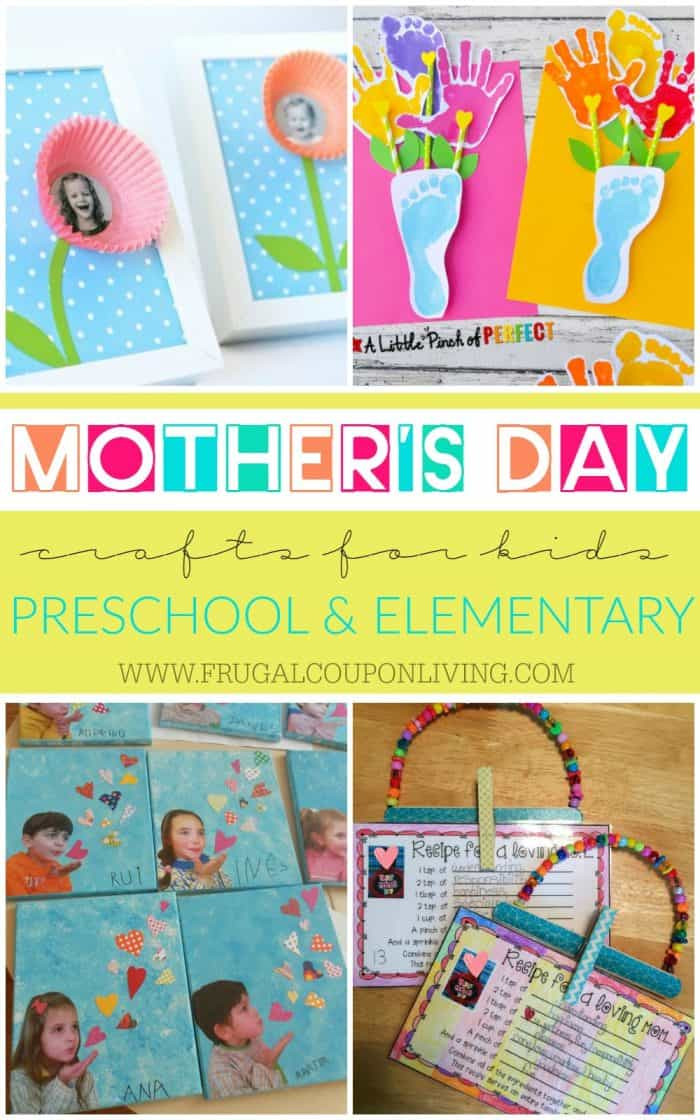 Mothers Day Recipe Craft Mother s Day Crafts for Kids Preschool Elementary and More