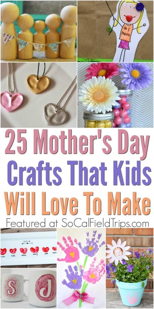 Mothers Day Recipe Craft 25 Easy Mother s Day Crafts for Kids SoCal Field Trips