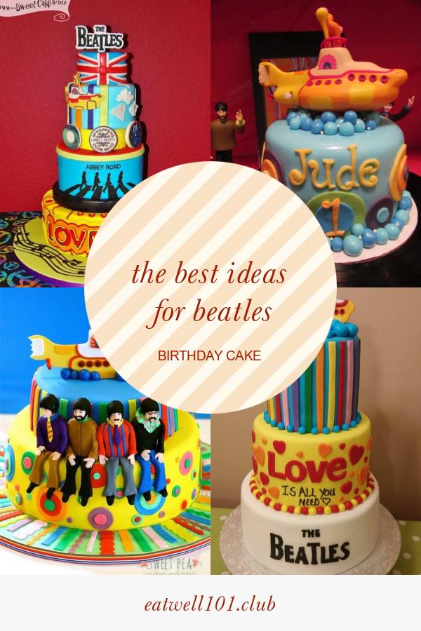Amazing The Best Ideas For Beatles Birthday Cake Best Round Up Recipe Funny Birthday Cards Online Alyptdamsfinfo
